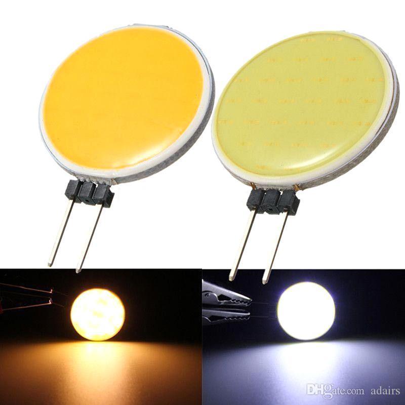 Adairs G4 COB DC 5 W 12 W Branco Quente LED 15 18 30 63 Chips Substituir Lâmpada Lâmpadas de Luz de Ponto De Halogéneo