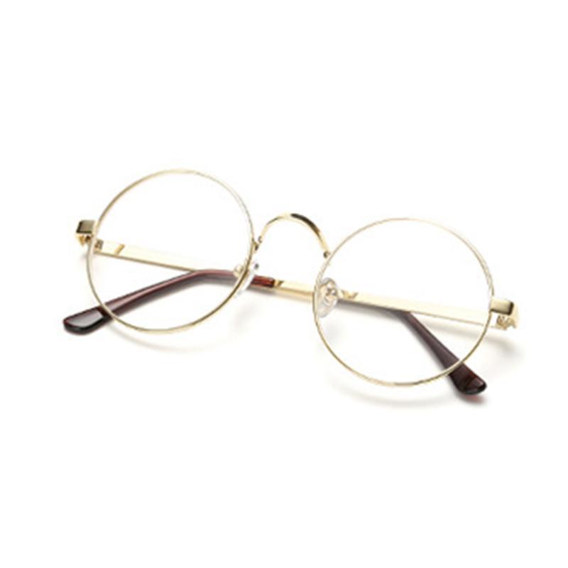 NOUVEAU HOT VENTES unisexe classique en métal Pilot à verres transparents prescription Hot lunettes