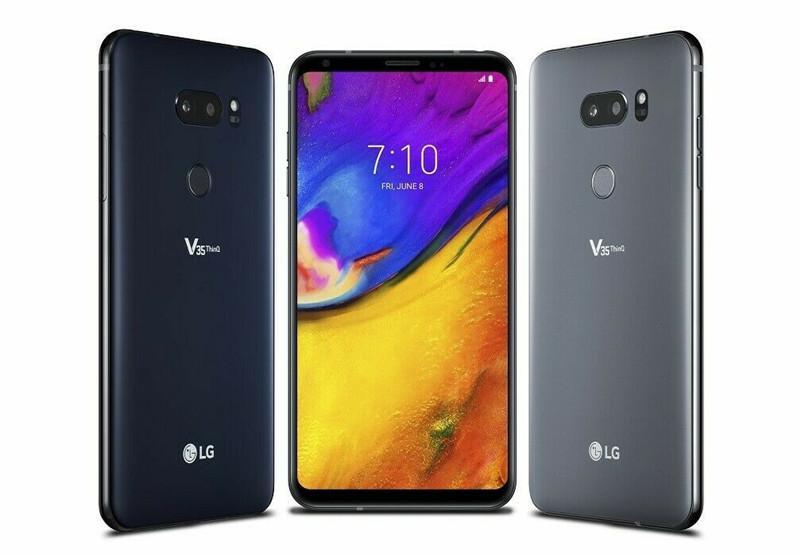 """الأصل إفتح LG V35 شيء becouse لاني 6.0 """"بوصة 6GB RAM 64GB ROM الروبوت الثماني النواة كاميرا مزدوجة 4G LTE تجديد الهاتف"""
