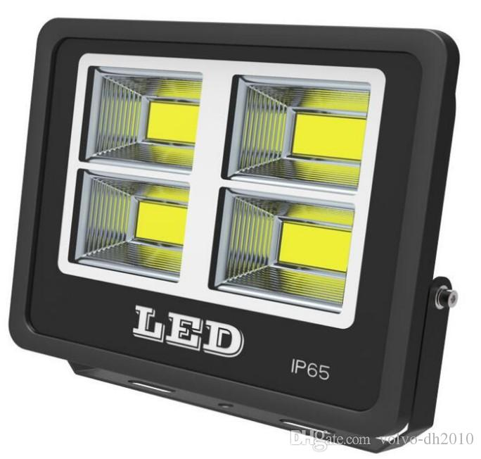 50 W 100 W 150 W 200 W 300 W 400 W 500 W AC85-265V Su Geçirmez Refletor LED Spot Işıklandırmalı Bahçe Sokak Işık Dış Duvar Lambası LLFA