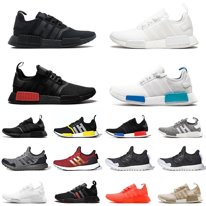 Adidas nmd R1 Designer Schuhe R1 Triple Japan weiß schwarz Männer Laufschuhe Og Classic Beige Oreo Camo Herren Turnschuhe Frauen Sport Turnschuhe US 5.5-11