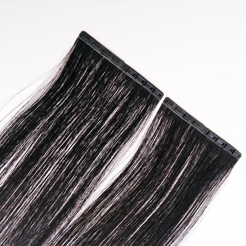 Ali Magic Snap Button Skin Weft Tape In Human Hair Extension Clip In Hair 14-24inch Easy To Wear And Disassemble New Product 20Pcs