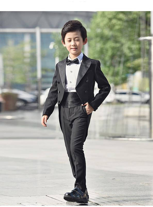 Formal 1-10T Baby Boy Wedding Suit New born Baby Wedding Suit Party Baptism Christmas Tuxedo