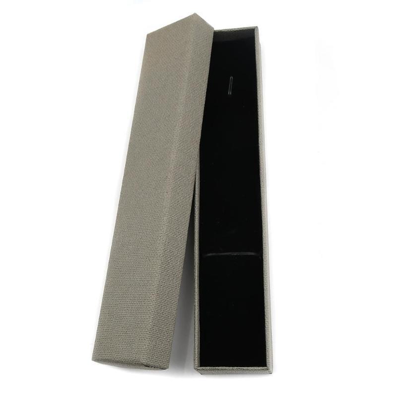 Doreenbeads 4PCS 2020 Новая Цветная текстура Ювелирные Изделия Упаковочная коробка Браслет Серьги Ящик Подарок Подкладка с Черной Губкой 21.3x4.3 см TPCMD