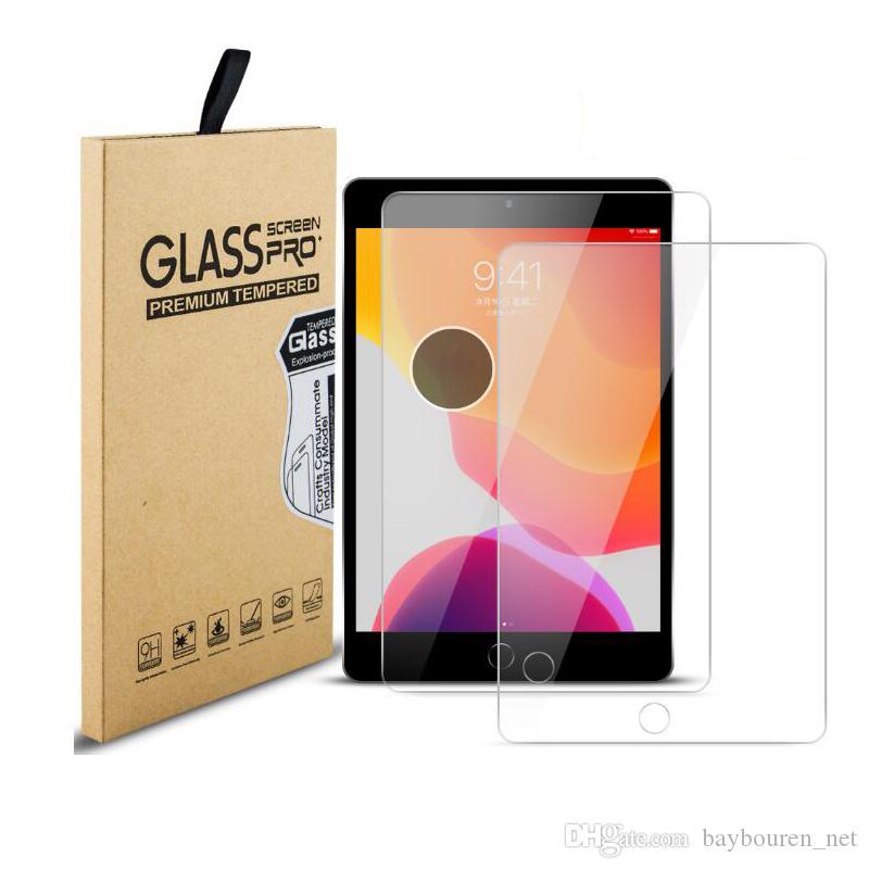 iPad 용 보호 화면 보호기 9.7 필름을위한 미니 5 4 에어 1 2 10.5 에어 3 강화 유리를 프로