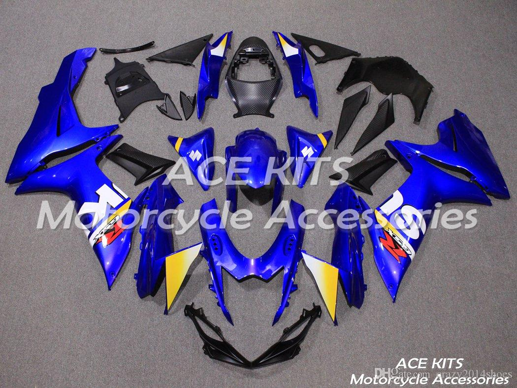 New ABS motorcycle Fairing Kits 100% Fit For SUZUKI GSXR600 GSXR750 K11 2011 2012 2013 2014 good nice blue Article no.OOOO