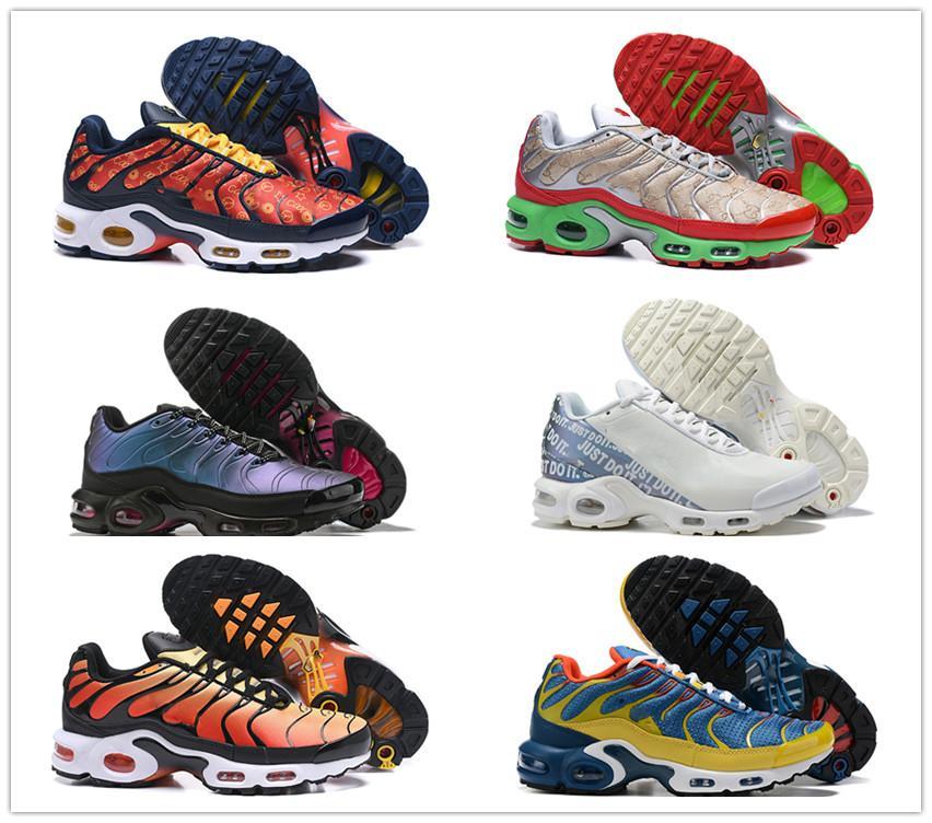 2019 Designer Plus TN SE Greedy Scarpe da corsa Scarpe da uomo Scarpe da ginnastica Chaussures TNS Super Traspirante scarpe da corsa Zapatillas de Sports Schuhe