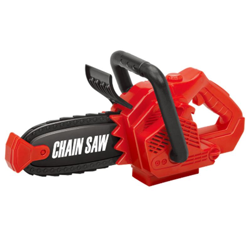 Pretend Play Spinning Small Chainsaw with Sound Power Tool Garden Tool Simulation Toys for Children Boys