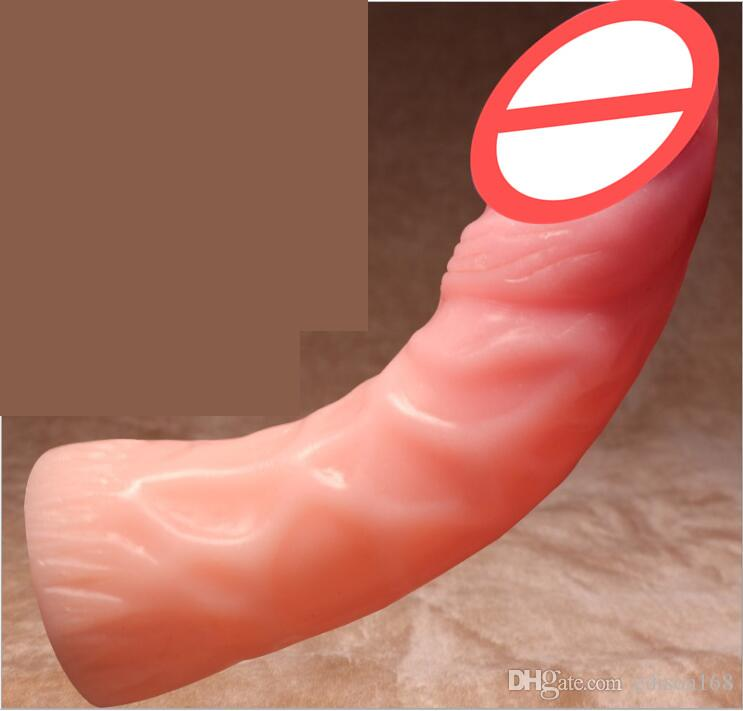 Super Soft Flexible Dildo Big Artificial Realistic Penis Fake Dick Large Thick Dildos For Women Female Masturbator Adult Erotic Sex Toy 10