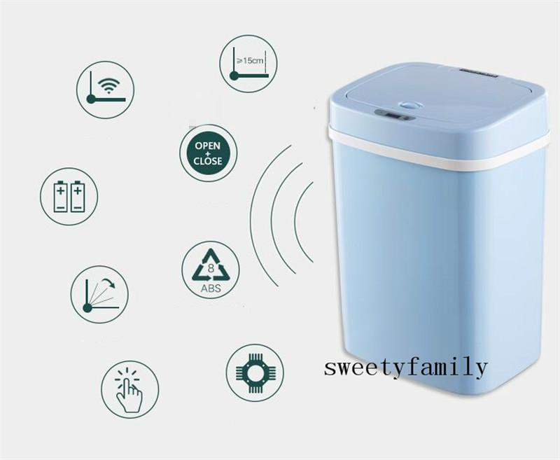Multifunctional Novice Mother Diapers Barrel 2020 Baby's Room Diaper Pails Intelligent Sensor Thicken Kitchen Convenience Trash Can