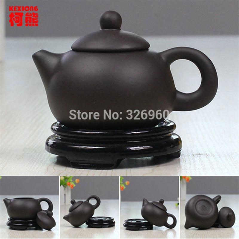Main argile pourpre à thé traditionnel Teapot Yixing Service à thé chinois Kung Fu thé bouilloire Chinaware Fait en Chine préféré 2019