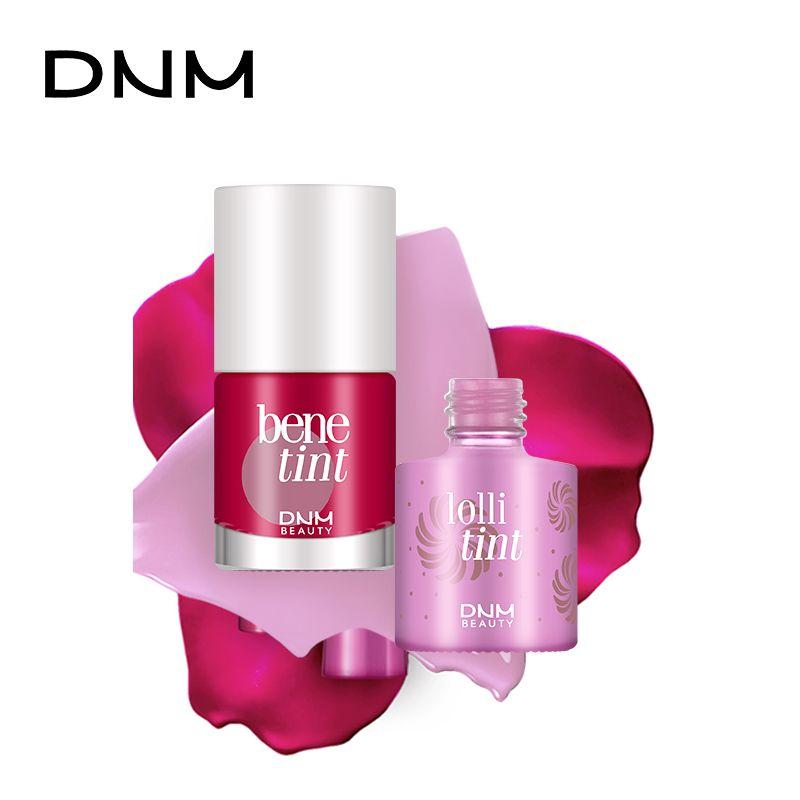 Donne trucco impermeabile multifunzione Lip Gloss Tint tintura liquida rossetto Blusher trucco duraturo DNM cosmetici