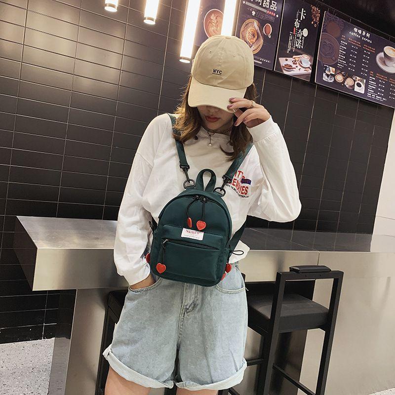 2020 Koreli yaz yeni naylon bayanlar günlük seyahat küçük sırt çantası mini'yi sırt çantası