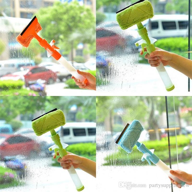 واجهت مزدوجة الأنظف نافذة متعددة الوظائف منظفات الزجاج أدوات تأثيث المنزل تنظيف النوافذ فرش وصول جديدة