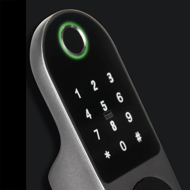 Guangdong factory smart Home security CE ROHS FCC card code key wifi tuya app phone digital smart door fingerprint lock