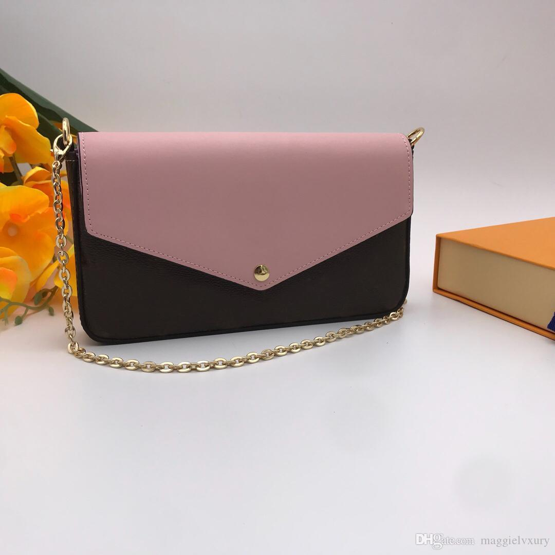 Vender Hot Lady Designer bolsa carteira Mulheres Real Leather Praça Mini Carteira de couro real da bolsa M60235