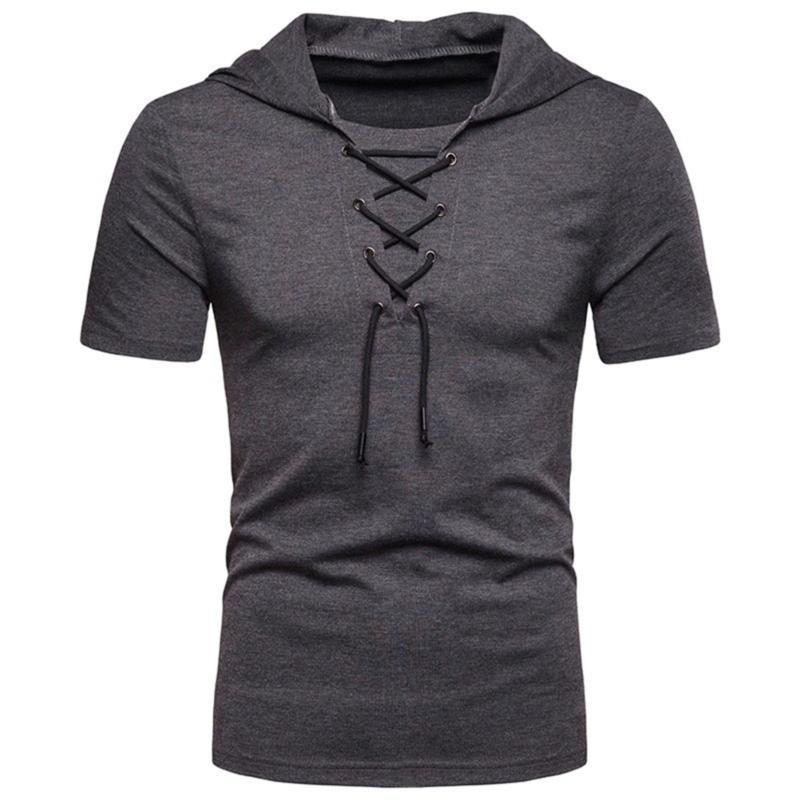 Vêtements de sport Top Hat T-shirts avec des hommes T-shirts Vêtements pour hommes 2020 manches Cross Casual O Neck Slim Quick Dry Shirt