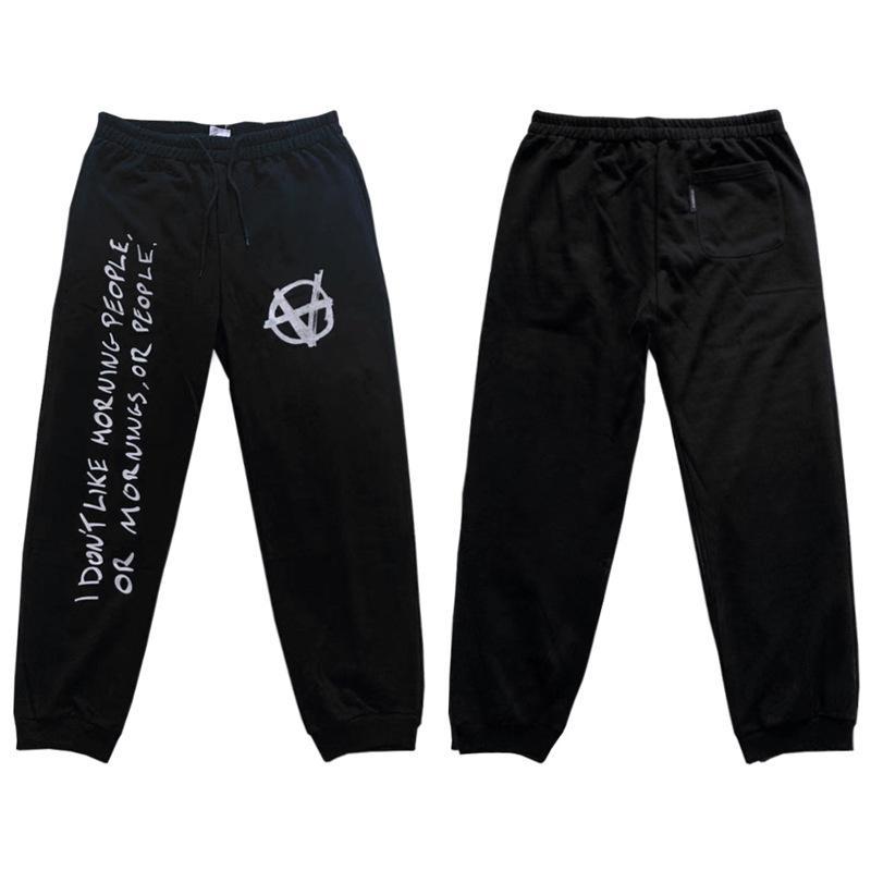 progettista Marchio marea VETEMENTS sportpants Europa e in America pantaloni casual VTM Weite Meng Wei stampa lettere pantaloni sportivi graffiti slogan