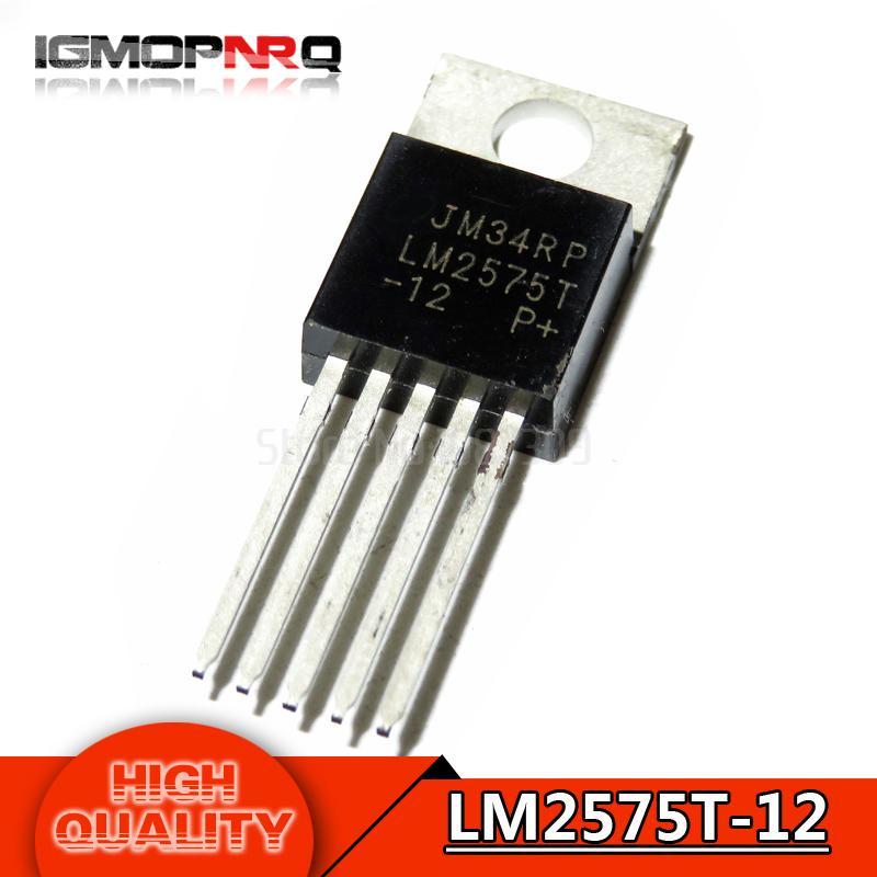 10 قطع LM2575T-12 LM2576T-ADJ LM2596T-3.3 LM2596T-ADJ LM2575T-5.0 LM2575T-ADJ LM2576HVT-ADJ LM2576T-5.0 TO-220