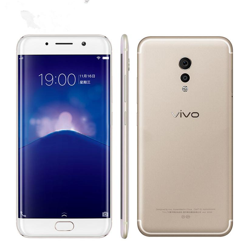 Original Vivo Xplay 6 4G LTE-Handy 6 GB ROM 64GB 128GB ROM Snapdragon 820 Quad Core Andorid 5,46 Zoll 16MP Fingerabdruck-ID-Handy