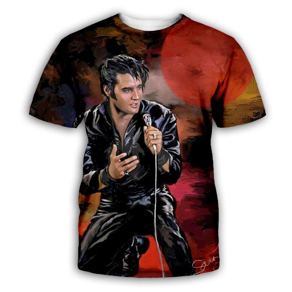 PLstar Cosmos Elvis Presley 3D Print Hoodie/Sweatshirt/Jacket/shirts Men Women Tees hip hop apparel TX066
