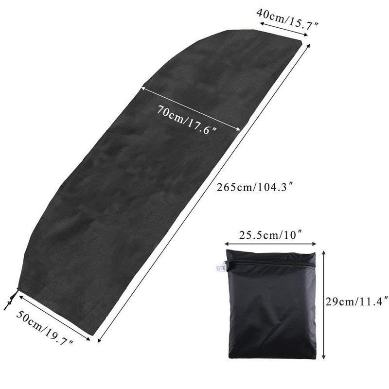 200-280 см открытый патио зонтик водонепроницаемый защитный чехол с застежкой-молнией для сада консольный зонтик зонтики чехол