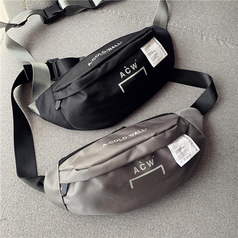 Top Quality Women Men Unisex Waistbag Handbags Hiphop Streetwear Bags Backpack