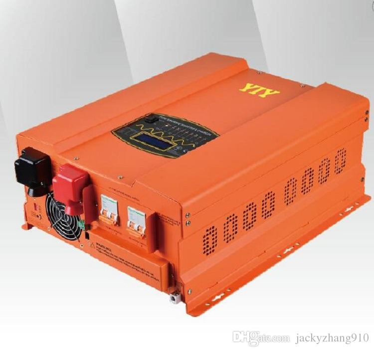 YIY HP&HP-PV DC24V/48V 10KW PURE SINE WAVE INVERTER CHARGER HIGH OUTPUT CAPACITY UP TO AC&DC EXCHANGE THD<3% 50/60Hz FREQUENCY ADJUST