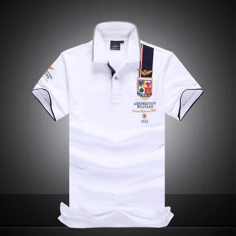 Diseñador de la marca 2019, camisas de polo, camiseta para hombre, bordado, caballero, estilo de la calle de High Street, estilo de secado rápido y polos transpirables