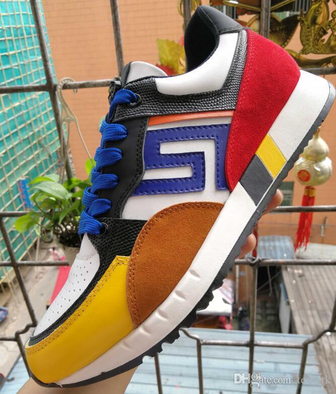 Diseñador de zapatillas de deporte Speed Trainer Negro Negro planos del calcetín Botas Casual Speed Trainer Runner envío