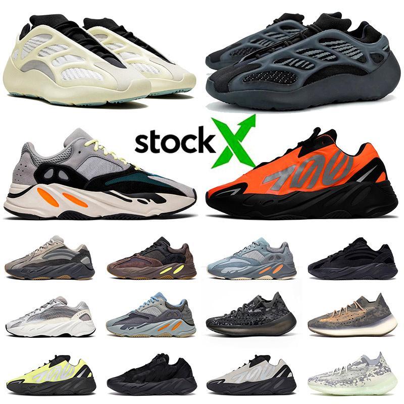 yeezy 700 v2 v3 3M  New Kanye 700 Schuhe für Männer Frauen Wave Runner Azael Alvah Alien Mist Carbon-Blau Vanta Luxuxentwerfer Sports Turnschuh-Trainer