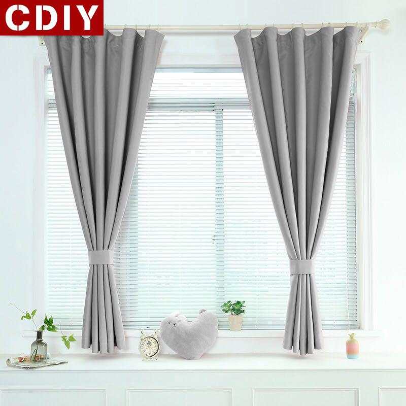 2020 Cdiy Modern Short Curtains Window Kitchen Blackout Curtains For Living Room Bedroom Soild Treatments For Door Balcony From Bright689 23 78 Dhgate Com