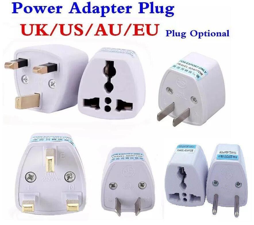 200pcs Seyahat Şarj Cihazı AC Elektrik UK AU AB için ABD fiş adaptörü Dönüştürücü ABD Evrensel Güç Priz Adaptador Bağlayıcı Yüksek Kalite