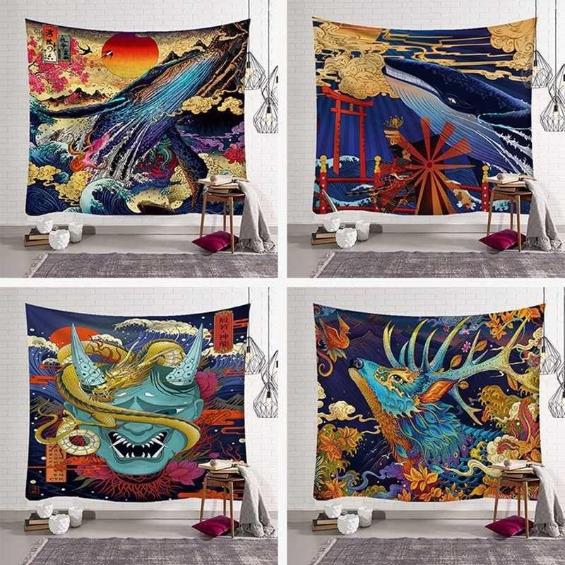 높은 품질 태피스트리 요가 매트 침대 덮개 벽걸이 태피스트리 비치 타월 홈 장식 담요 인도 여성 카펫 판매