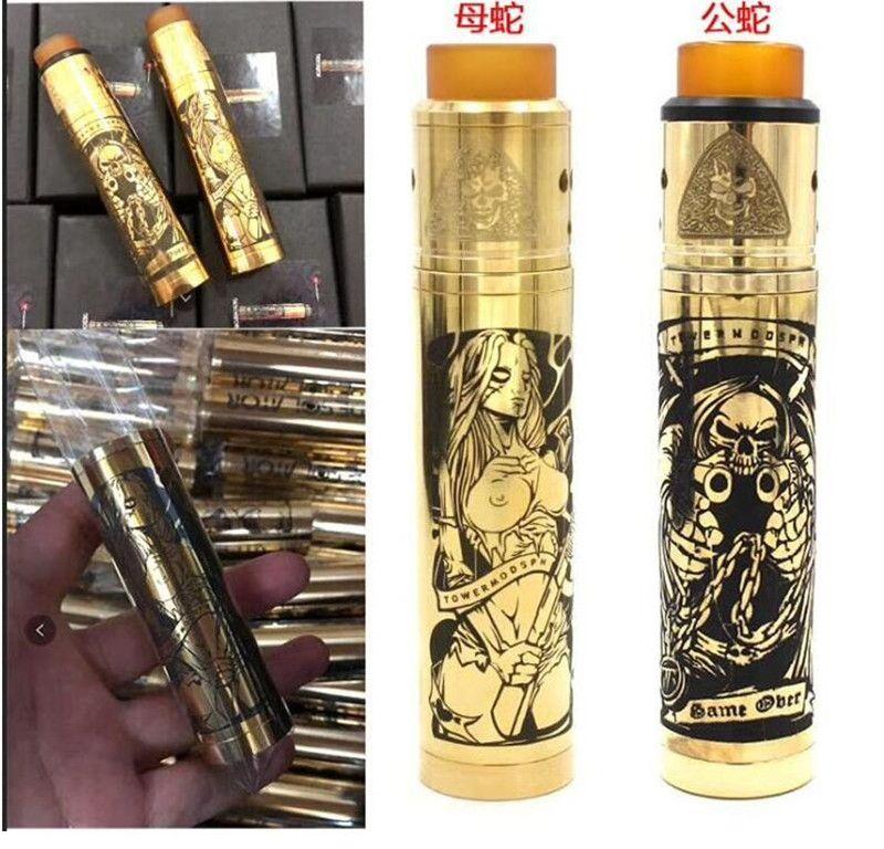 e cigarrillo vape Torre Mod Tube AXIS mecánico mod kit rda filipinas vape mech mod 18650