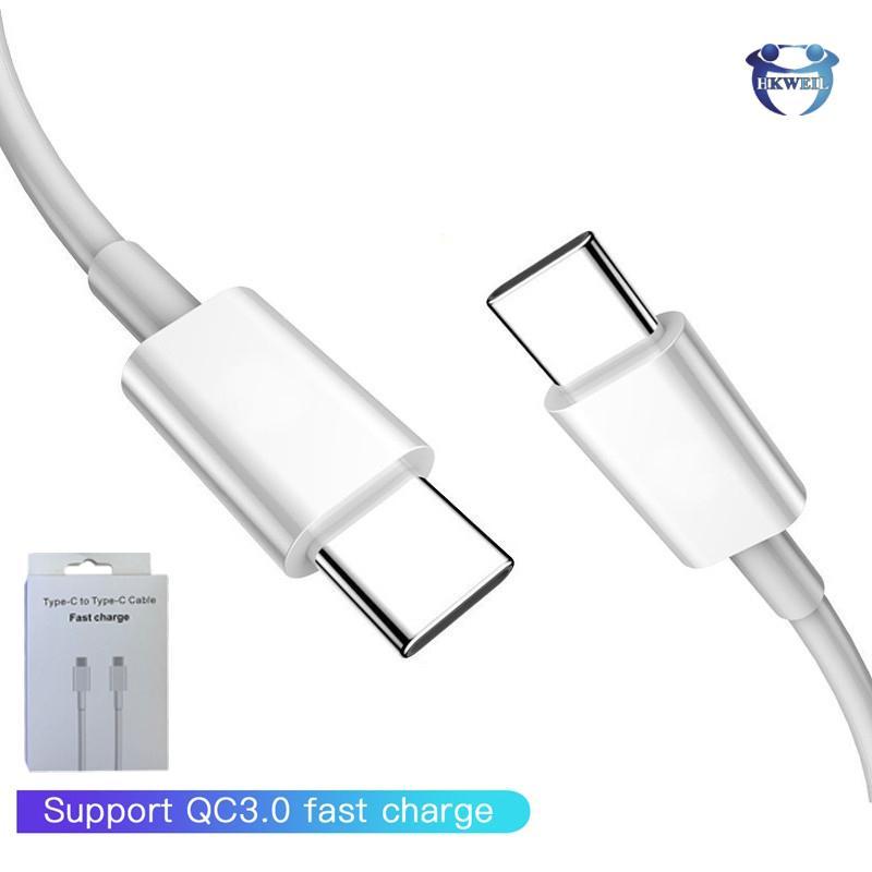 PD type c à c de type câbles Type Micro USB C Chargeur Câble 2A / 3A recharge rapide pour Samsung S8 S9 S10 note10 Huawei