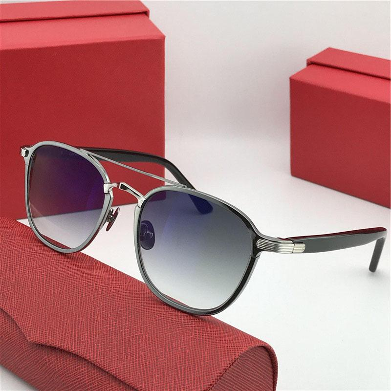 Occhiali da sole all'ingrosso-nuovi stilisti 0012 retro tondo k con montatura in oro tendenza occhiali di protezione stile avanguardistico di alta qualità con scatola