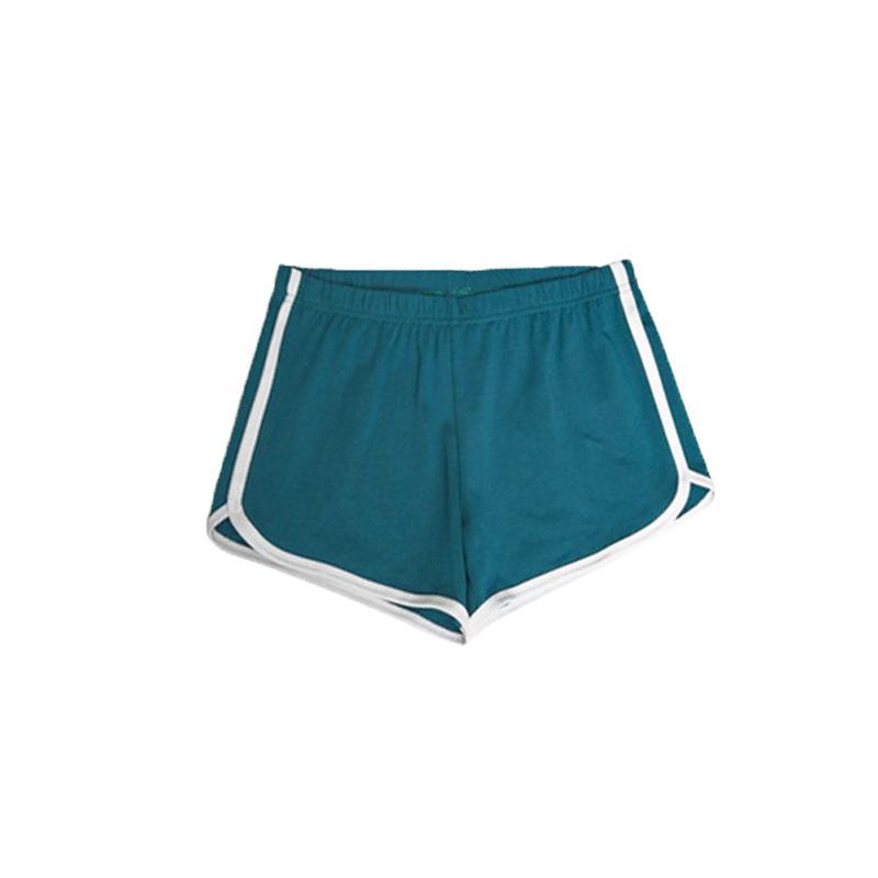 Casual mujeres calientes atractiva del verano pantalones cortos de algodón de yoga en casa Delgado Famme gimnasia Pantalones cortos elásticos de la cintura