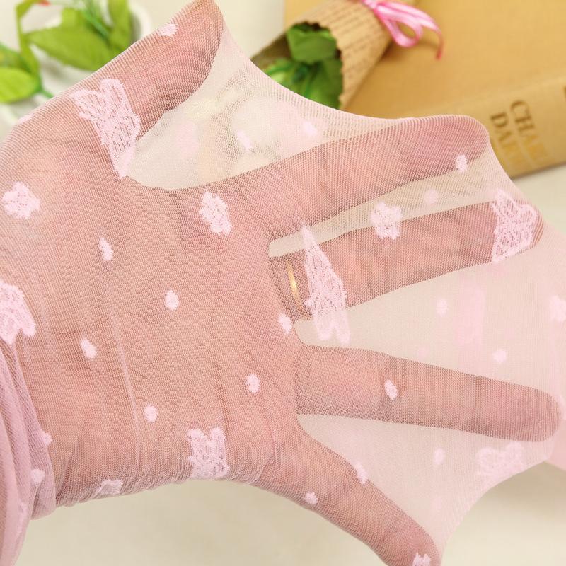 Tubo di bambini calze da donna traspirante sottile Ginocchio-Alto in tubo calzini di colore solido media di seta delle signore della maglia di ballo della farfalla Calzini