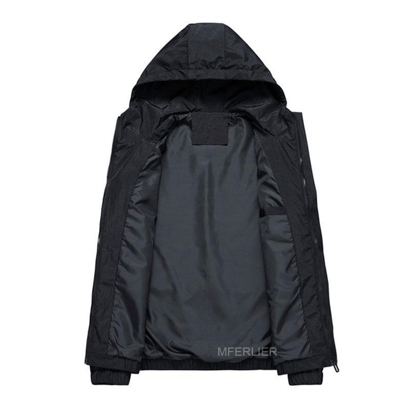 homens da mola outono jaquetas 5XL 6XL 7XL 8XL Bust 142cm casacos tamanho grande homens