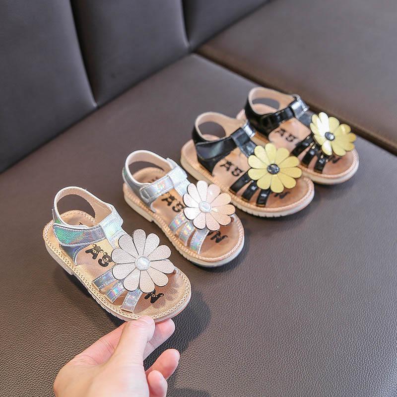 Лето 2020 цветок baby girl обувь малыш обувь девушки сандалии малыш сандалии детские сандалии пляжная обувь малыш девушка сандалии 1-3 Т B1144