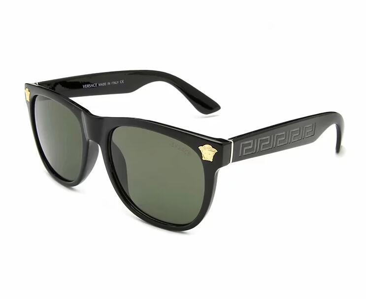 Lunettes de soleil de luxe Desinger avec UV400 Stamp Full Frame Lunettes de soleil pour Femmes Hommes Accessoires de mode de haute qualité R0667