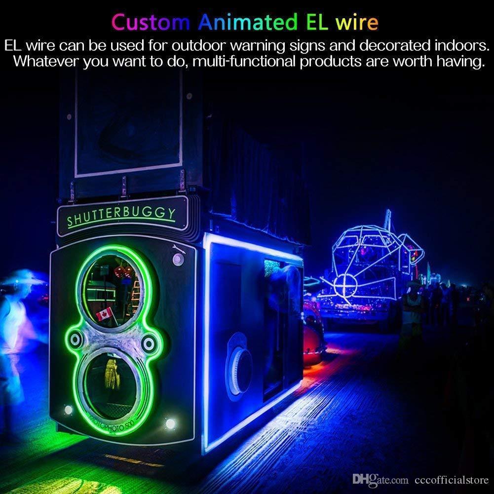 어댑터 빛 방수 OutdoorIndoor LED 조명 플렉스 LED 네온 빛 M LED 스트립 로프