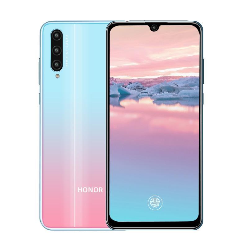 "Original Huawei Honor 20 Lite 4G LTE Cell Phone 6GB RAM 64GB 128GB ROM Kirin 710F Octa Core Android 6.3"" Full Screen 48.0MP OTG OTA Fingerprint ID Face Smart Mobile Phone"