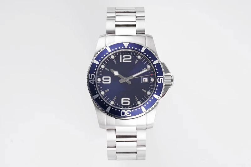 AC размер часы 39X13mm 2824 автоматический Topspin движение водонепроницаемый дизайнер часы роскошные мужские часы автоматические часы