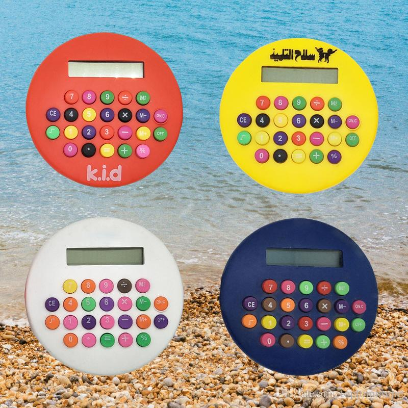Hamburger Calculator Portable 8 Digits Battery Counter Student Stationery Office Supplies Free Shipping