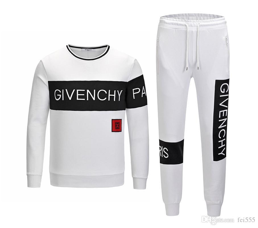 2019 neue Herren-Anzug Sportswear Meduse Set Sweatshirt und Hose passt Qualität Mann Aktiv Baumwolljacke Anzug