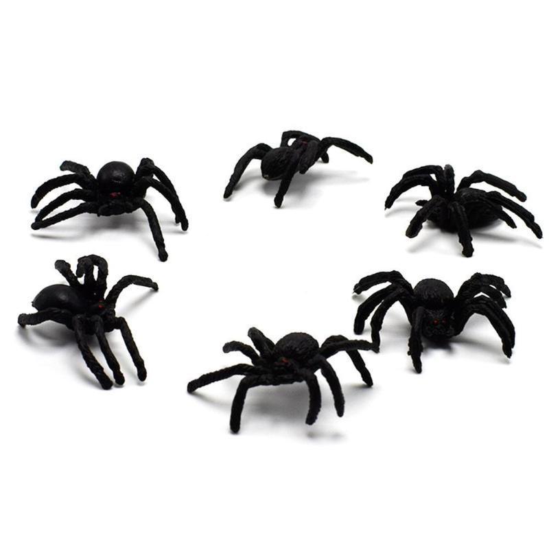 Kinder Spielzeug Simulation Spinne Witze Spielzeug PVC künstliches Insekt Tiermodell Trick Spielzeug