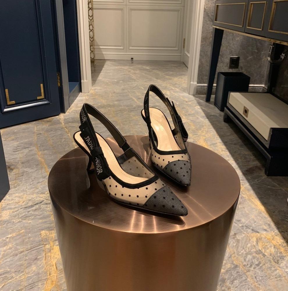 İnce topuklu kadın ayakkabı Yeni Moda Tek yüksek topuklu