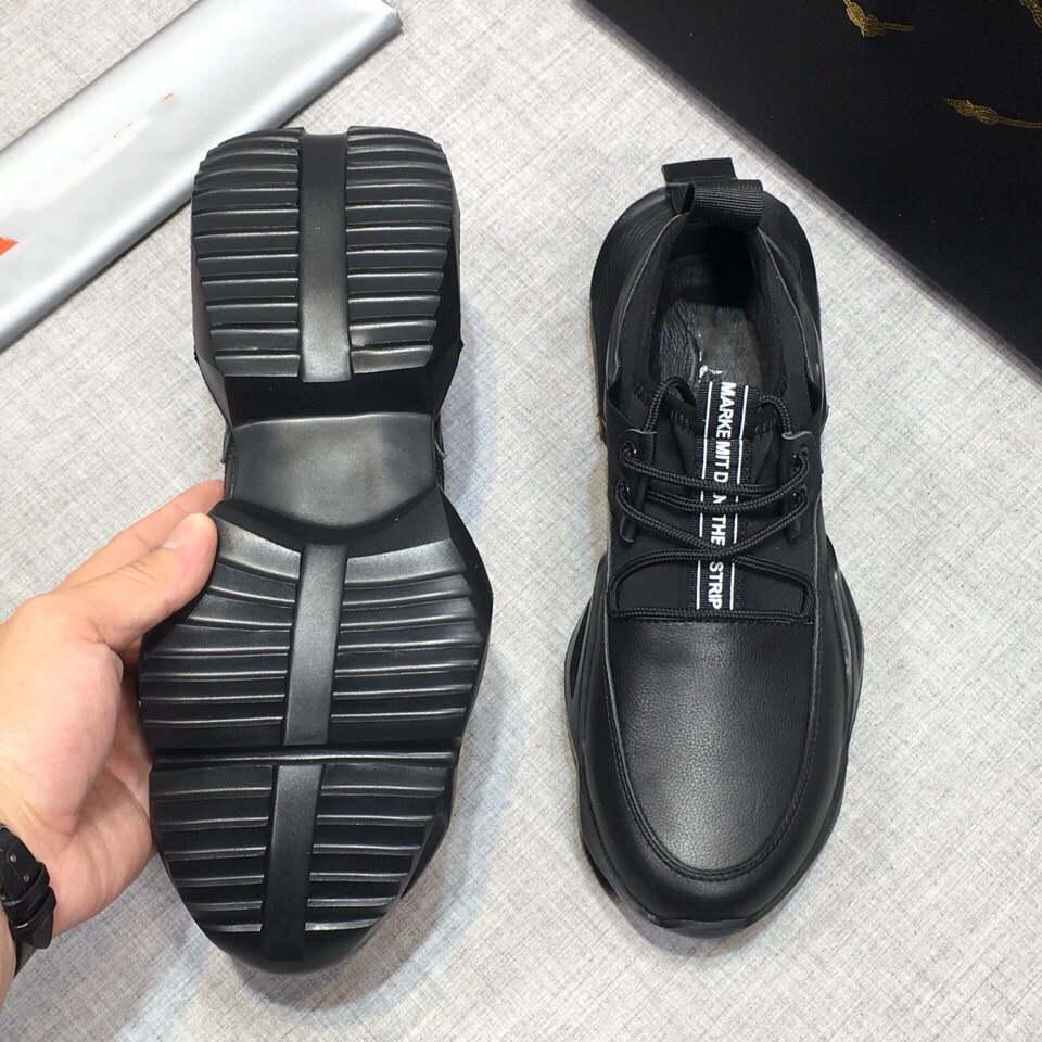 chaud de luxe de Sneaker Plate-forme Formateurs Suede Chaussures Hommes Femmes vachette Loisirs Chaussures véritable mode en cuir mixte couleur avec la boîte